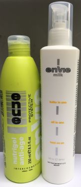 ENVIE MILK PROTIEN ALL IN ONE AND ENVIE NUTRIGEL ANTI AGE HAIR TREATMENT