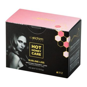 Elchim Hot honey Care Sublime Liss Pods smoothing Treatment pods x12pic
