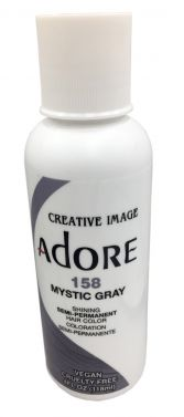 Adore hair dye colour 158 mystic gray