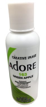 Adore hair dye colour 163 green apple