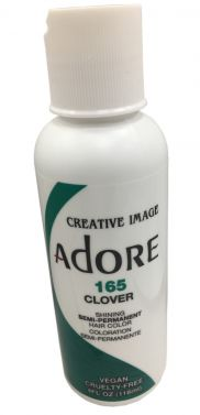 Adore hair dye colour 165 clover