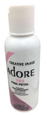 ADORE SEMI PERMANENT HAIR dye COLOUR 192 Pink Petal