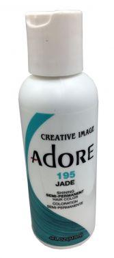 ADORE SEMI PERMANENT HAIR dye COLOUR 195 Jade