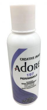 ADORE SEMI PERMANENT HAIR dye COLOUR 197 Periwinkle
