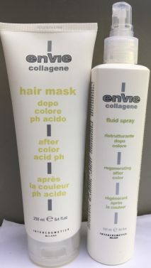 ENVIE Collagene After color Hair mask and Hair fluids 250ml