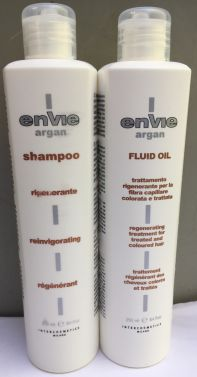 ENVIE Argan Hair shampoo and Envie Argan hair Fuild