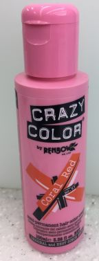 CRAZY DYE HAIR COLOR 57 CORAL RED 100ML