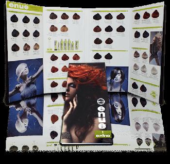 Enue Hair color chart