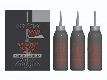 ENVIE HAIR COLOR BLACK VITAL ANTI-AGE KERATIN COMPLEX