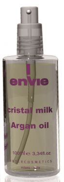 ENVIE CRISTAL MILK ARGAIN OIL Crystal Drops Hair Serum Oil Sheen 100 ml