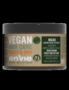 Envie Vegan Linum Hair mask Moisturising dry hair and Frizzy Hair