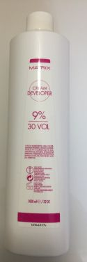 Matrix Developer cream 30v 9% 1000ml