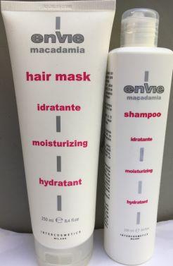 ENVIE Macadamia Hair shampoo and Hair Mask 250ml