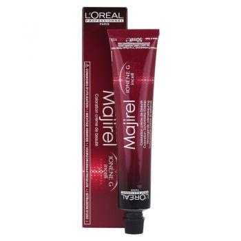 Loreal Majirel copper blonde hair dye color 7.4