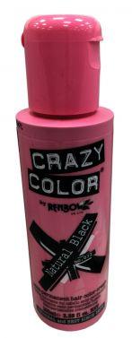 Crazy color 030 black  hair color