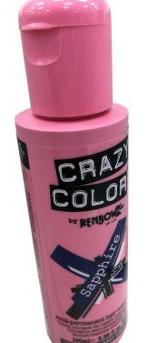 Crazy color 72 sapphire  hair color