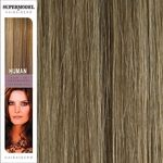 Super Model Clip In Human Hair Extensions 20 Inches. Colour 14-2