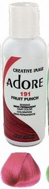 ADORE  HAIR dye COLOr 191 Fruit Punch