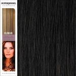 Super Model Clip In Human Hair Extensions 20 Inches. Colour 2
