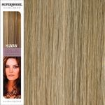 Super Model Clip In Human Hair Extensions 20 Inches. Colour 16-2