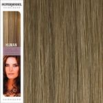 Super Model Clip In Human Hair Extensions 20 Inches. Colour 18