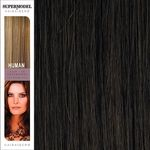 Super Model Clip In Human Hair Extensions 20 Inches. Colour 4