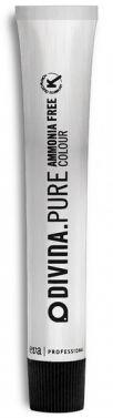 Divina pure Ammonia free permanent Hair dye color 7.21   Desert