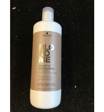 Schwarzkopf blond me developer 6%-20v 1000ML