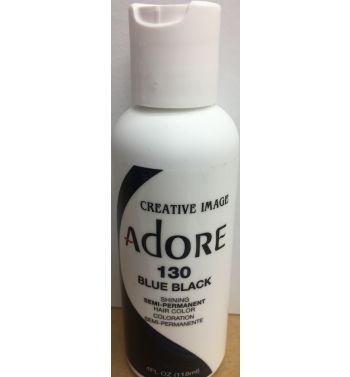 Adore hairdye colour 130 blue black
