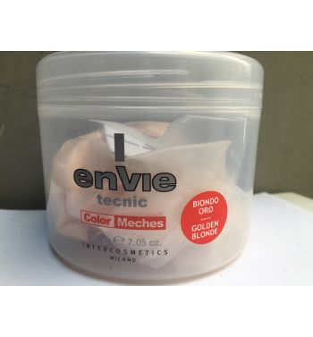 ENVIE TECNIC HAIR DYE COLOR MECHES  POWDER GOLDEN BLONDE 200G