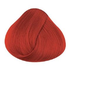 Directions coral red hair dye color