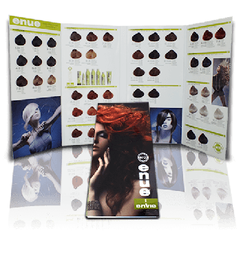 Enue Hair color chart