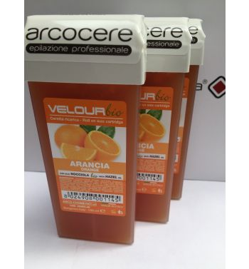 Arcocere Orange lisposoluble roll on  wax  3x100ml