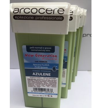 Azulene lisposoluble roller on cartridge hair wax removal 5x100ml