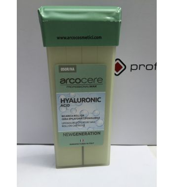 Arcocere Hyaluronic Acid roller on cartridge hair wax removal 100ml