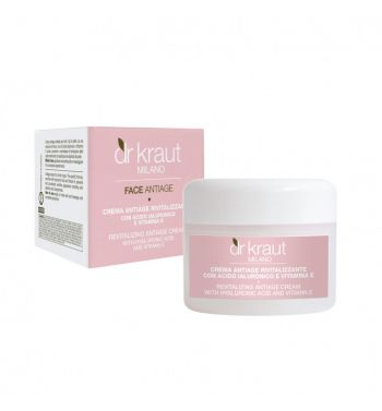REVITALIZING ANTIAGE CREAM with Hyaluronic Acid and Vitamin E 100ML