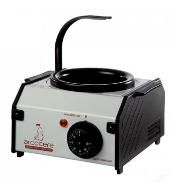 wax heating metal pot 400g