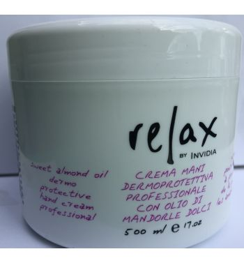 Relax Sweet Almond Oil protective hand Cream 500ML
