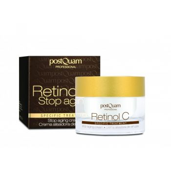 PostQuam Retinol C Stop Aging Anti-Wrinkle Liposome Rich Moisturising Cream 50ml