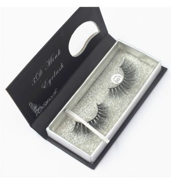 Mink Fur Natural Eye Lashes 001 Super Light Weight