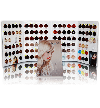 ENVIE  Hair colour Chart