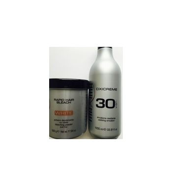 MAXIMA hair dye color OXICREME 30VAND WHITE BLEACH POWDER 500G