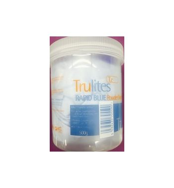 TRULITES BLUE BLEACH POWDER 500G