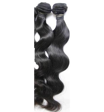 Brazilian Peruvian Virgin Human hair Extensions body weave 100g 24inc