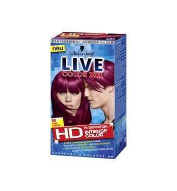 SCHWARZKOPF LIVE Color XXL Pure Purple 86 Hair color