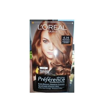 Lorea'l  paris Hair Colour   Havan Golden Mahagony 6.35