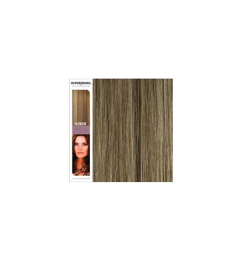 Super Model Clip In Human Hair Extensions 18 Inches. Colour 14-2
