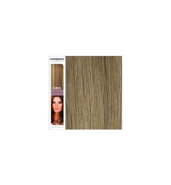 Super Model Clip In Human Hair Extensions 18 Inches. Colour 18-2