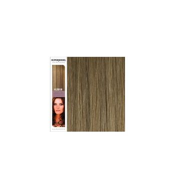 Super Model Clip In Human Hair Extensions 18 Inches. Colour 18