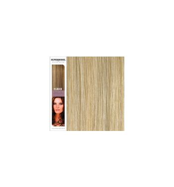 Super Model Clip In Human Hair Extensions 18 Inches. Colour 24/S